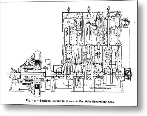 Prime Steam Engine Diagram Titanic 1911 Metal Print By Science Source Wiring 101 Tzicihahutechinfo