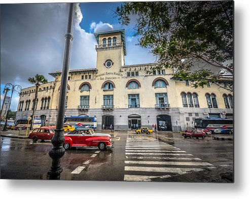 Havana Metal Print featuring the photograph Terminal by Bill Howard