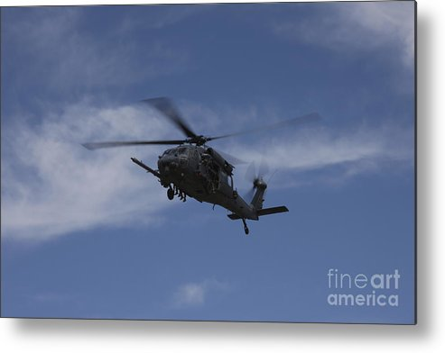Exercise Angel Thunder Metal Print featuring the photograph U.s. Air Foce Hh-60g Pave Hawk by Terry Moore
