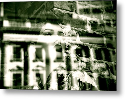Jezcself Metal Print featuring the photograph Within These Walls by Jez C Self
