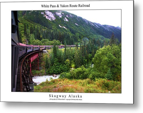 Alaska Metal Print featuring the photograph White Pass And Yukon Route Railroad by William Jones