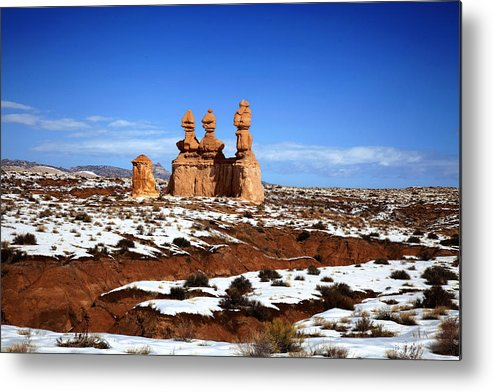 Goblin Valley State Park Metal Print featuring the photograph Goblin Valley by Mark Smith
