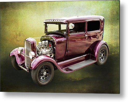 1929 Ford Model A Metal Print featuring the photograph 1929 Ford Model A 5511.03 by M K Miller