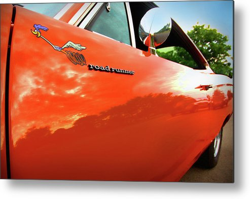 1969 Metal Print featuring the photograph 1969 Plymouth Road Runner 440 Roadrunner by Gordon Dean II