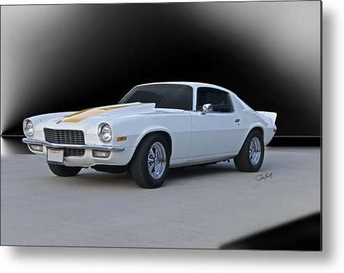 Automobile Metal Print featuring the photograph 1971 Chevrolet Camaro I by Dave Koontz