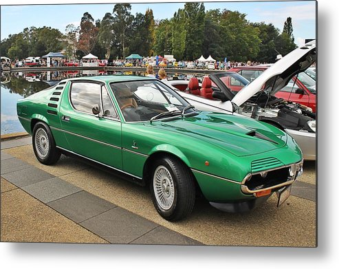 Alfa Metal Print featuring the photograph Alfa Romeo Montreal by Anthony Croke