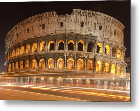 Colosseum Metal Print featuring the photograph Colosseum by Andre Goncalves