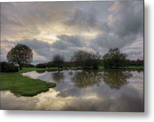 New Forest Metal Print featuring the photograph Janesmoor Pond - New Forest by Joana Kruse