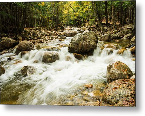 Kanacamangous Highway Metal Print featuring the photograph Mountain Stream by Terri Morris