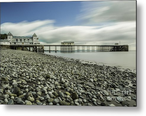 Penarth Pier Metal Print featuring the photograph Penarth Pier 6 by Steve Purnell