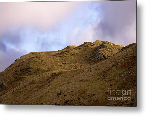 Great Britain Metal Print featuring the photograph Snowdonia by Angel Ciesniarska