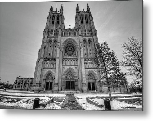Washington Dc Metal Print featuring the photograph Washington National Cathedral by Craig Fildes