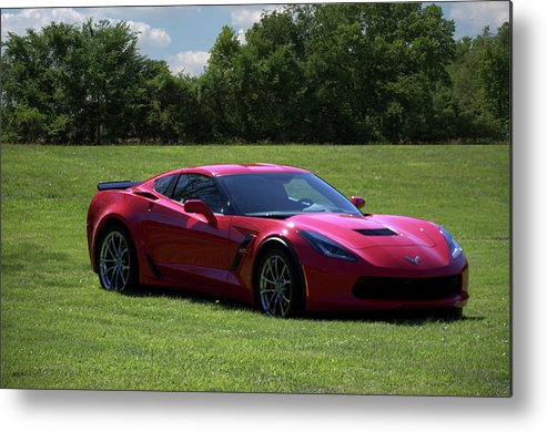 2017 Metal Print featuring the photograph 2017 Corvette by Tim McCullough