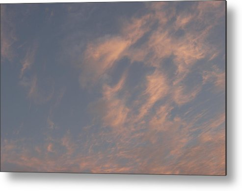 Summer Metal Print featuring the photograph Evening Summer Sky by Masami Iida