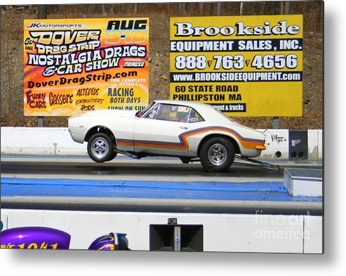 04-19-2015 Metal Print featuring the photograph 2449 04-19-2015 Lebanon Valley Dragway by Vicki Hopper