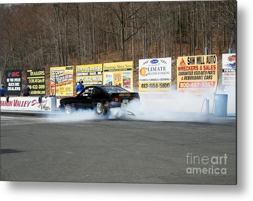 04-19-2015 Metal Print featuring the photograph 2558 04-19-2015 Lebanon Valley Dragway by Vicki Hopper