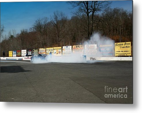 04-19-2015 Metal Print featuring the photograph 2561 04-19-2015 Lebanon Valley Dragway by Vicki Hopper