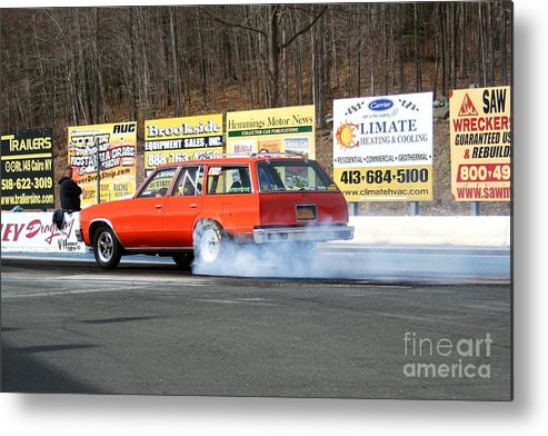 04-19-2015 Metal Print featuring the photograph 2657 04-19-2015 Lebanon Valley Dragway by Vicki Hopper