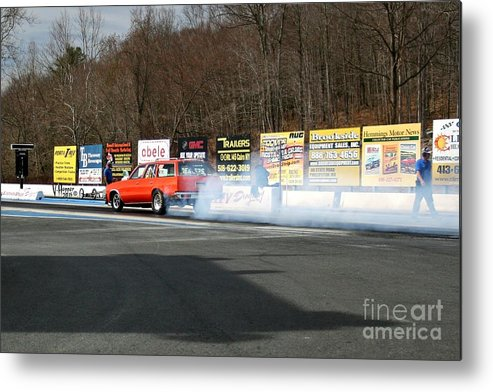 04-19-2015 Metal Print featuring the photograph 2662 04-19-2015 Lebanon Valley Dragway by Vicki Hopper