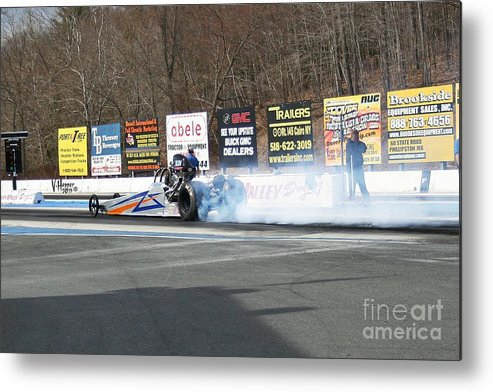 04-19-2015 Metal Print featuring the photograph 2673 04-19-2015 Lebanon Valley Dragway by Vicki Hopper