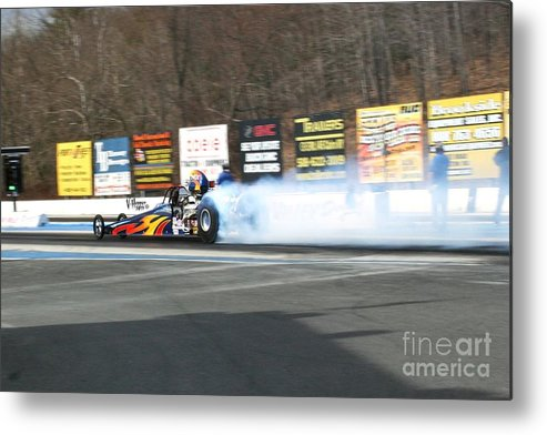 04-19-2015 Metal Print featuring the photograph 2681 04-19-2015 Lebanon Valley Dragway by Vicki Hopper