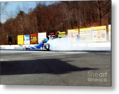 04-19-2015 Metal Print featuring the photograph 2695 04-19-2015 Lebanon Valley Dragway by Vicki Hopper