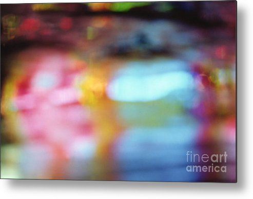 Abstract Metal Print featuring the photograph Abstract by Tony Cordoza