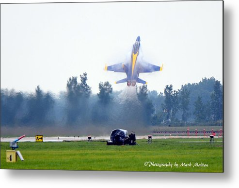 Blue Angel Metal Print featuring the photograph Blue Angels by Mark Madion