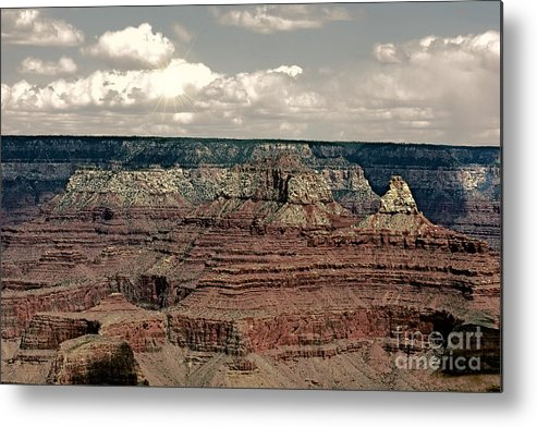 Grand Canyon Metal Print featuring the photograph Grand Canyon Experience Series by Berta Keeney