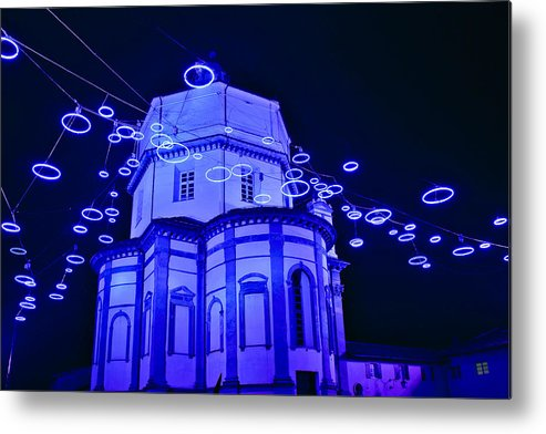 Italy Metal Print featuring the photograph Holiday Lights by Carl Jackson
