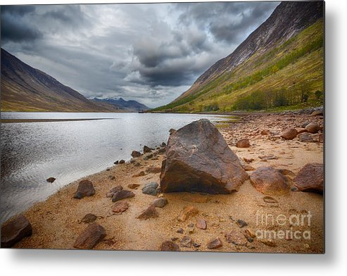 Loch Etive Metal Print featuring the photograph Loch Etive by Smart Aviation