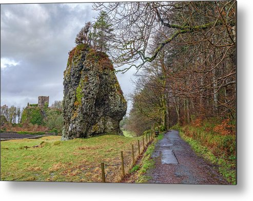 Dunollie Castle Metal Print featuring the photograph Oban - Scotland by Joana Kruse