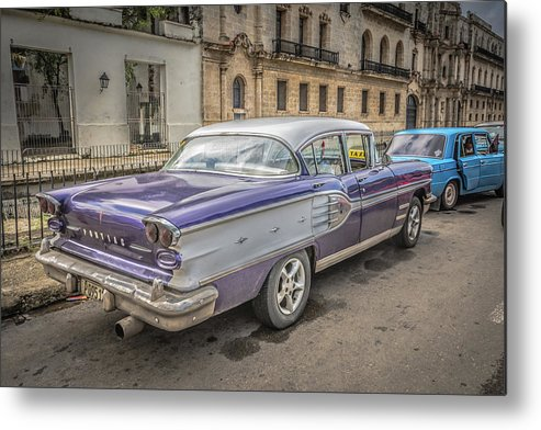 Havana Metal Print featuring the photograph Old Car by Bill Howard