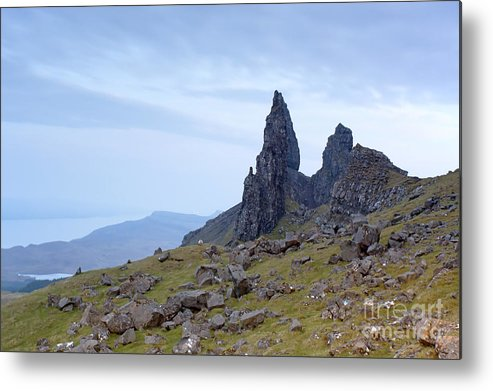 Beauty Metal Print featuring the photograph The Old Man Of Storr by Andre Goncalves
