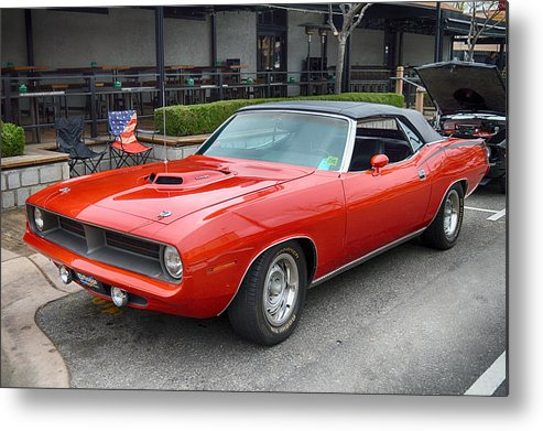 Plymouth Metal Print featuring the photograph 383 Cuda by Bill Dutting