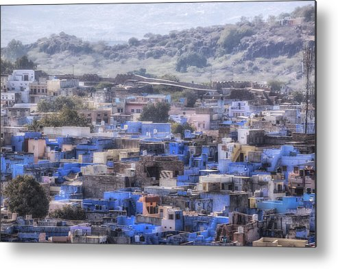 Jodhpur Metal Print featuring the photograph Jodhpur - India by Joana Kruse