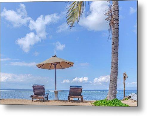 Sanur Beach Metal Print featuring the photograph Sanur Beach - Bali by Joana Kruse