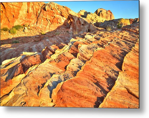 Valley Of Fire State Park Metal Print featuring the photograph Valley Of Fire by Ray Mathis
