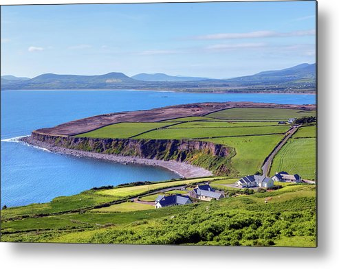 Ballingskelligs Bay Metal Print featuring the photograph Ring Of Kerry - Ireland by Joana Kruse