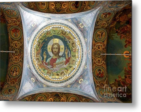 Church Metal Print featuring the photograph Church Of The Savior On Spilled Blood by Vladi Alon
