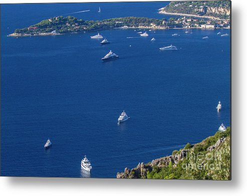 Èze Metal Print featuring the photograph Eze, Alpes-maritimes Department, France by Ohad Shahar