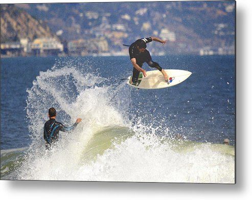 Surfer Metal Print featuring the photograph Surfer by Marc Bittan