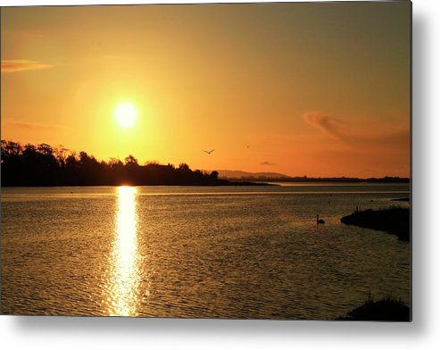 Sunrise Metal Print featuring the photograph 6.25am by Martina Fagan