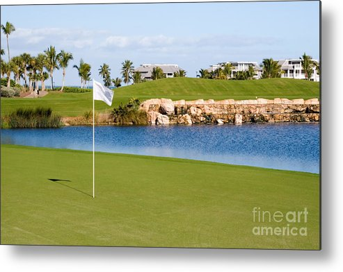 Golf Metal Print featuring the photograph Florida Gold Coast Resort Golf Course by ELITE IMAGE photography By Chad McDermott