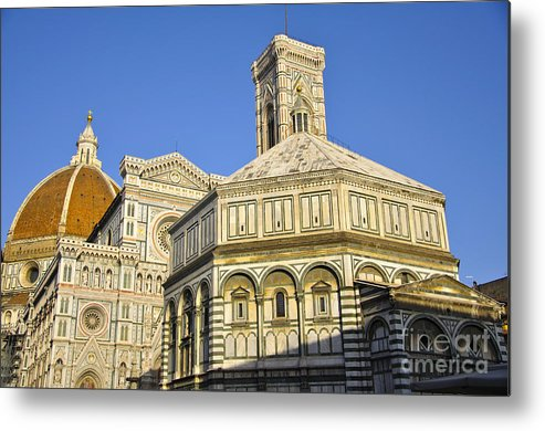 Florence Metal Print featuring the photograph Florence by LS Photography