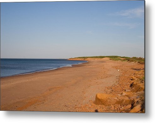 Prince Edward Island Metal Print featuring the photograph A Beautiful Summer Day On An Empty by Taylor S. Kennedy