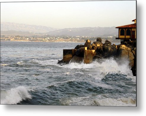 Ocean Metal Print featuring the photograph A Cannery Row Autumn by Lorrie Morrison