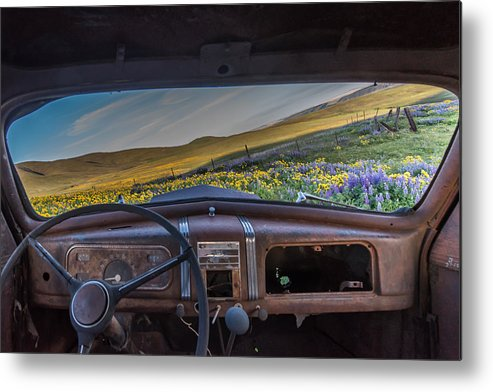 Landscape Metal Print featuring the photograph A Classics View by Exquisite Oregon