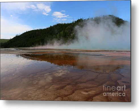Park Metal Print featuring the photograph A Landscape That Seems Surreal by Christiane Schulze Art And Photography