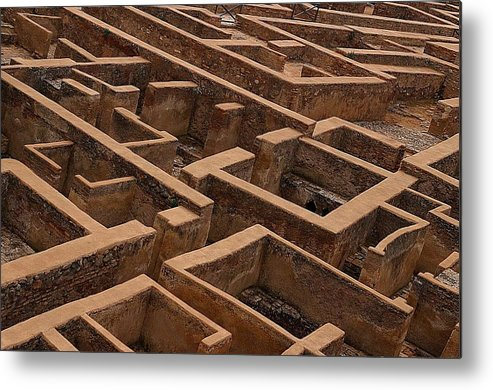 Jez C Self Metal Print featuring the photograph A Maze Life Is A Maze by Jez C Self